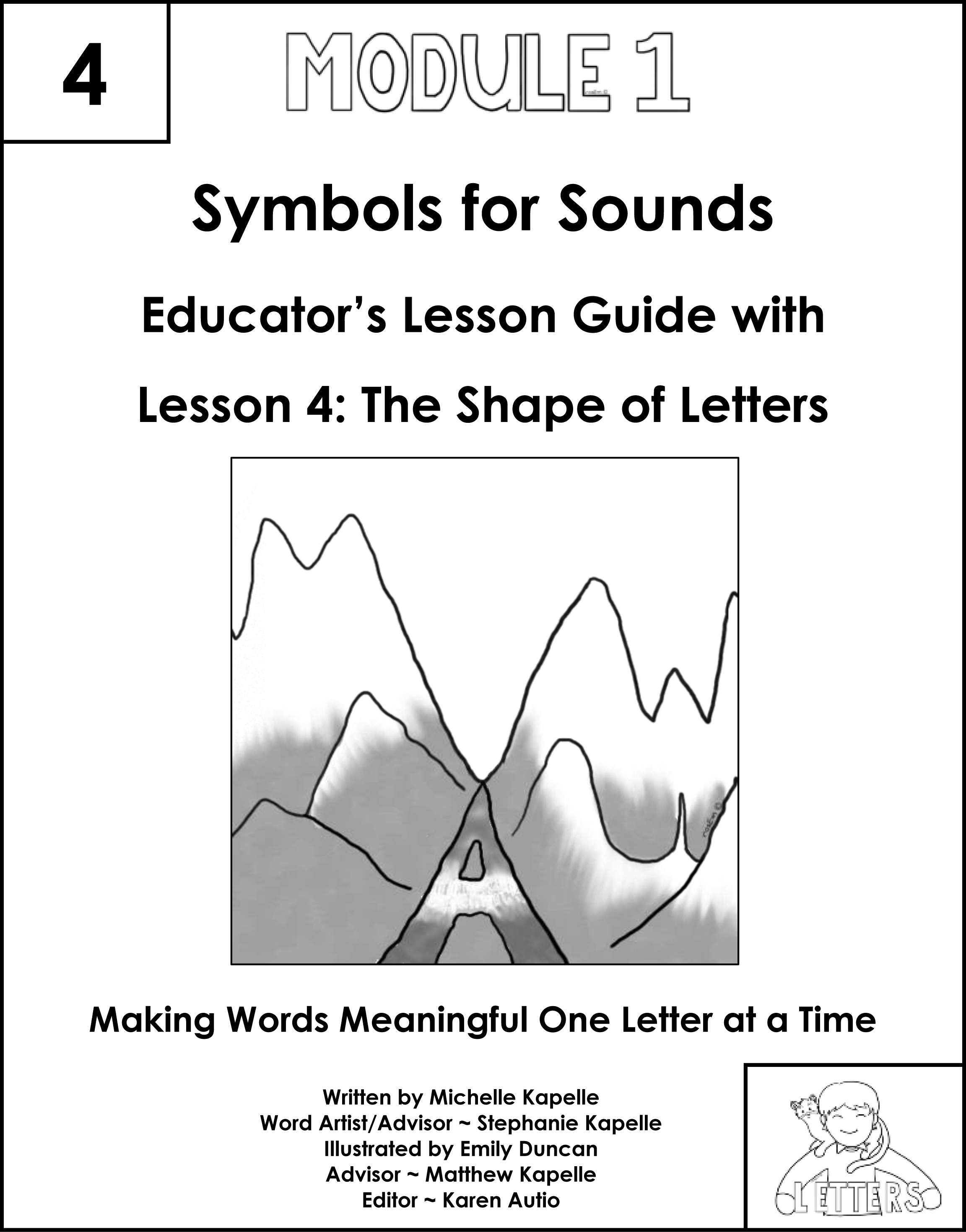 Letters Symbols For Sounds Lesson 4 The Shape Of Letters